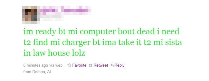 Bad grammar celebrity tweets about mayweather