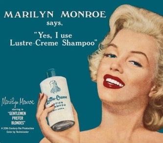 Marilyn Monroe Ad