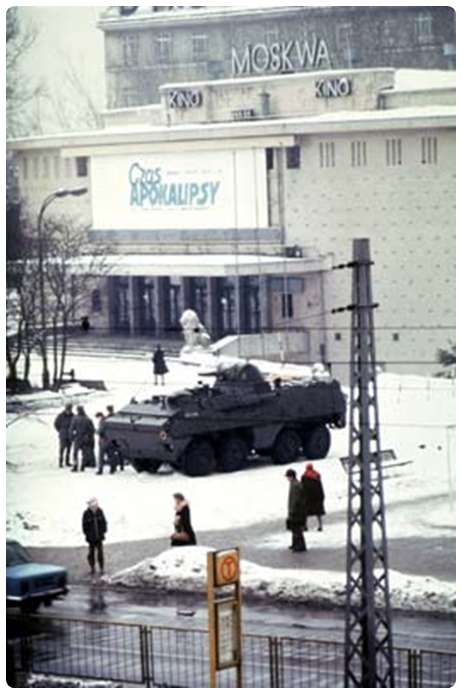 Poland Solidarity 1980 - Moskwa Theater