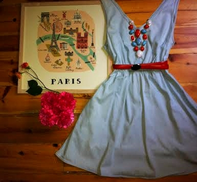 paris dress 2A