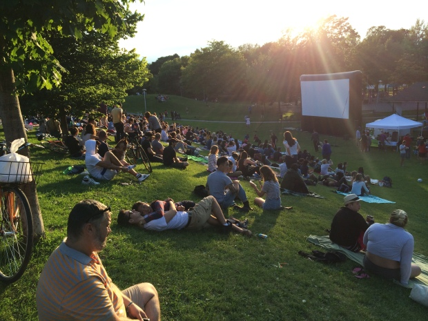 Christie Pits Film Festival_toronto_day