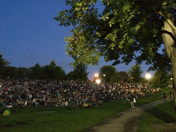 Christie Pits Film Festival Toronto night 2