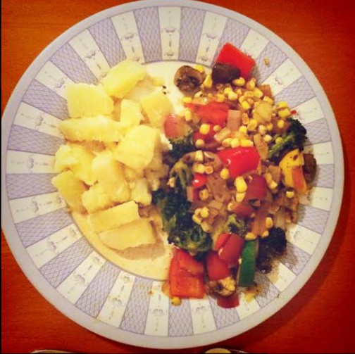 Vegetable Medley with potato