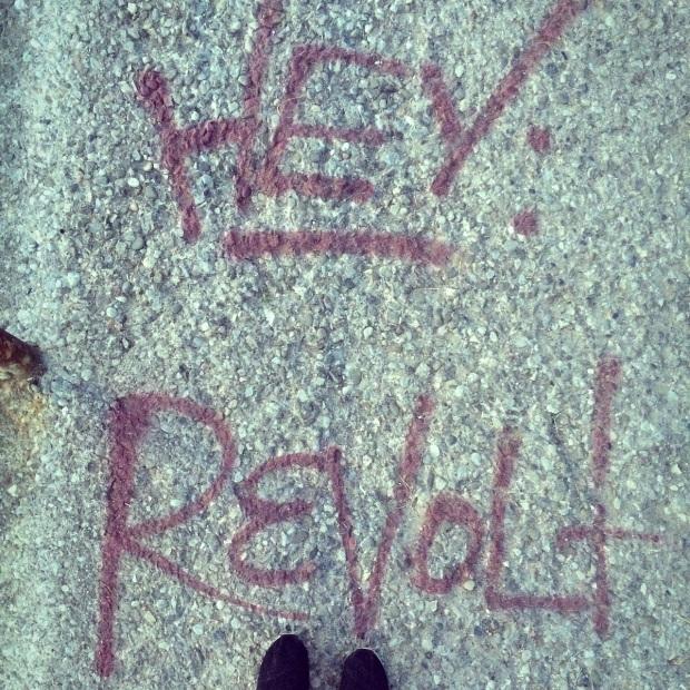 The Kollektive streets of toronto_revolt-graffiti