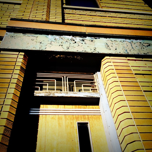 Art Deco detailing spotted on Dupont Street