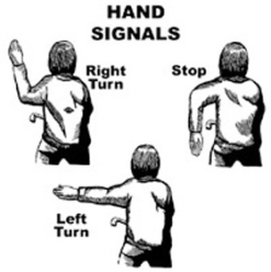 bicycle-hand-signals