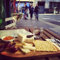 Wine and Cheese at Augustus Harris in London
