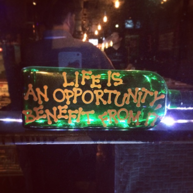 Life is an Opporunity
