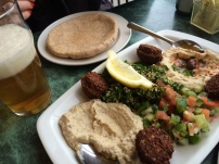 Middle Eastern Platter at By The Way in the Annex