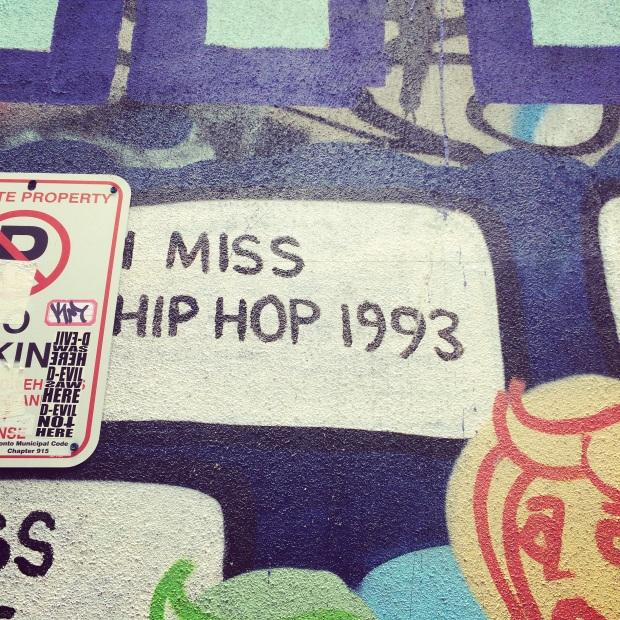I miss hip hop 1993