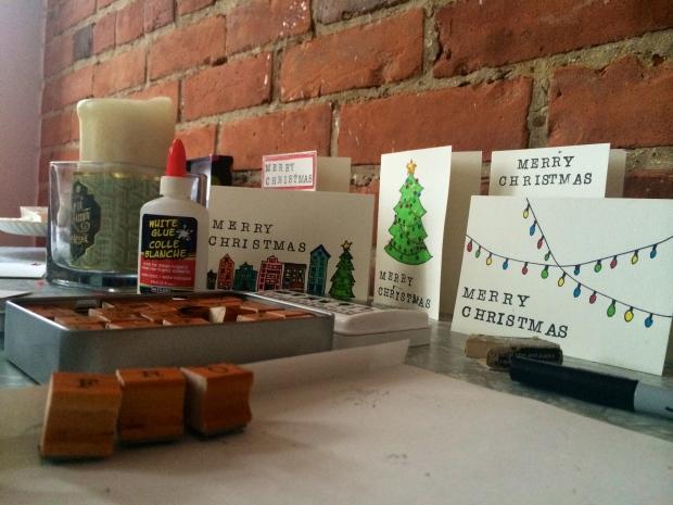the kollektive christmas dyi weekend