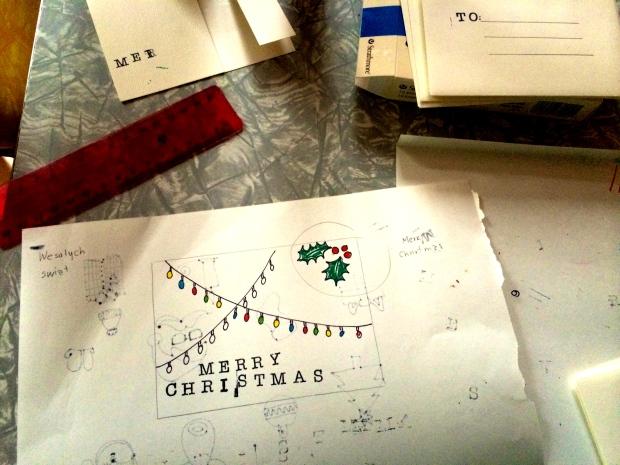 the kollektive christmas dyi cards