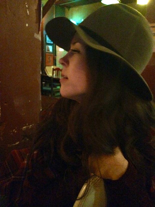 the kollektive klara in a hot hat