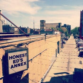 Honest Ed's Alleway looking North