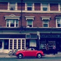 Toronto Red Car