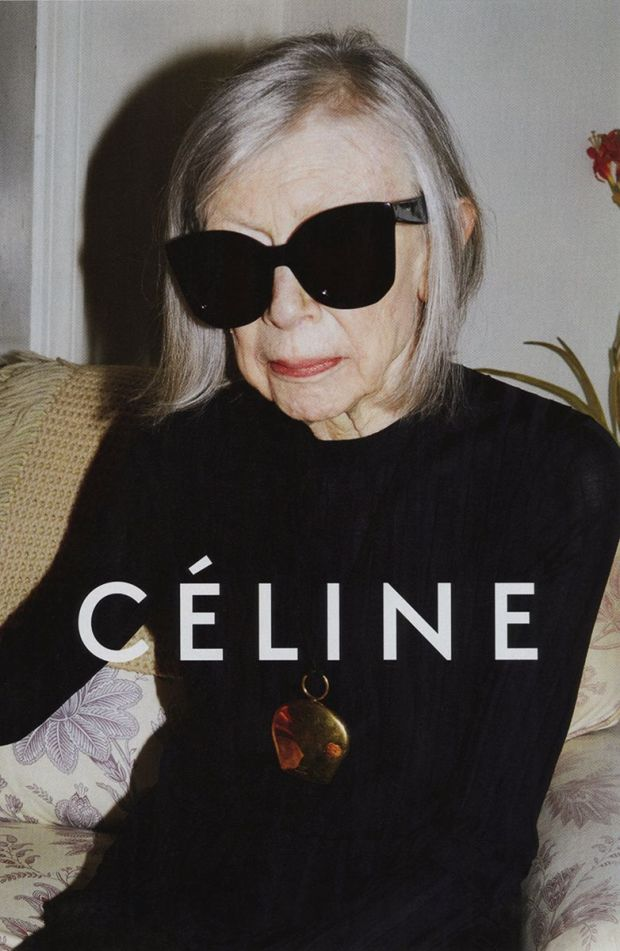 Joan Dididon Celine Ad