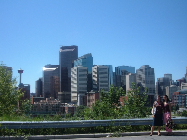 Calgary Skyline in 2005