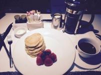 Pancake Breakfast in Bed