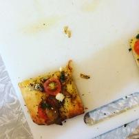 Flat bread appertizer
