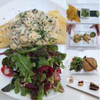 Summerlicious meals from MoRoCo Chocolat