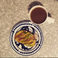 Avocado on toast for breakfast