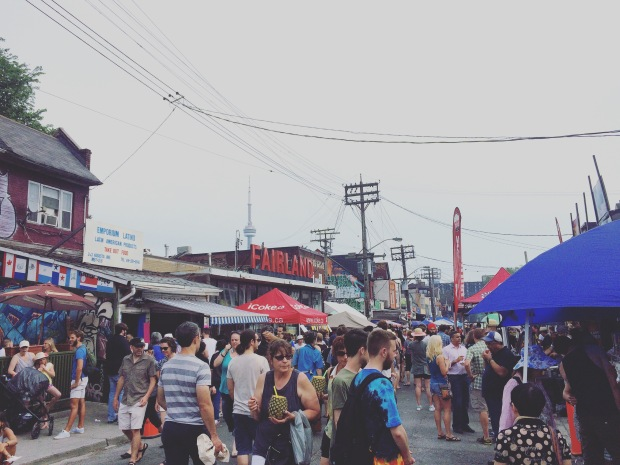 Kensington Market Pedestrian Sunday