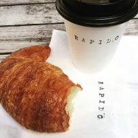 Americano & Croissant from Rapido
