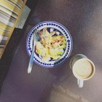 I love scrambled eggs for breakfast