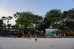 View of Sawasdee Coco Cafe & Resort from the Beach