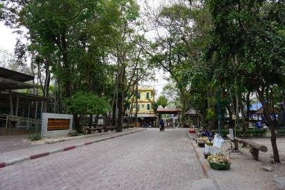Main street entrance to the beach