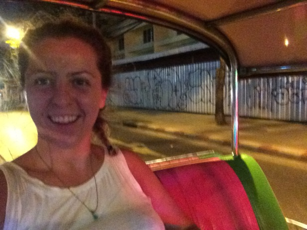 Last Tuk Tuk ride in Bangkok